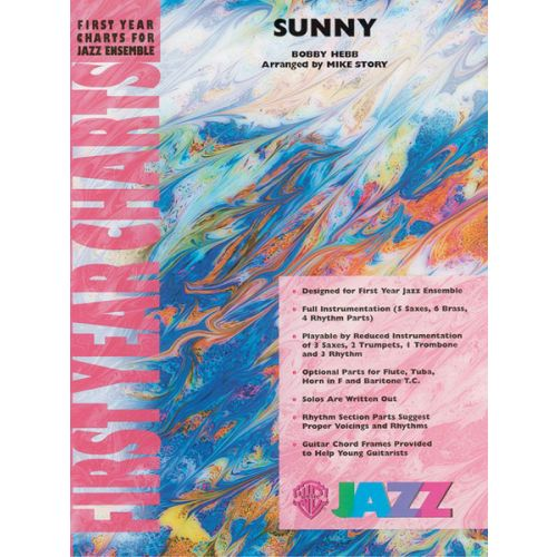 ALFRED PUBLISHING HEBB BOBBY ARR. STORY MIKE - SUNNY - JAZZ BAND