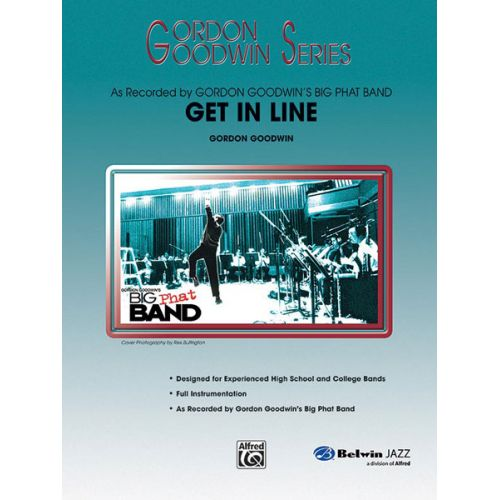 ALFRED PUBLISHING GOODWIN GORDON - GET IN LINE - JAZZ BAND