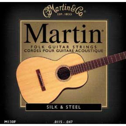 MARTIN GUITARS AKUSTIKGITARREN SAITEN SET SILK AND STEEL 11-14-23-28-38-47
