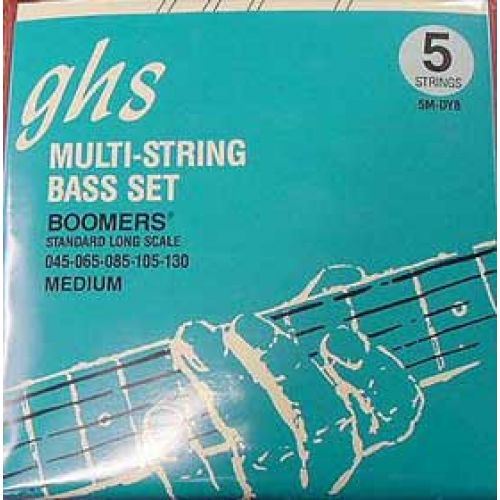 GHS BOOMERS 5 STRINGS MEDIUM 45 65 85 105 130