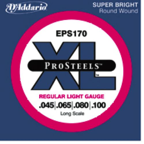 D'ADDARIO AND CO PROSTEEL EPS170 45 65 80 100