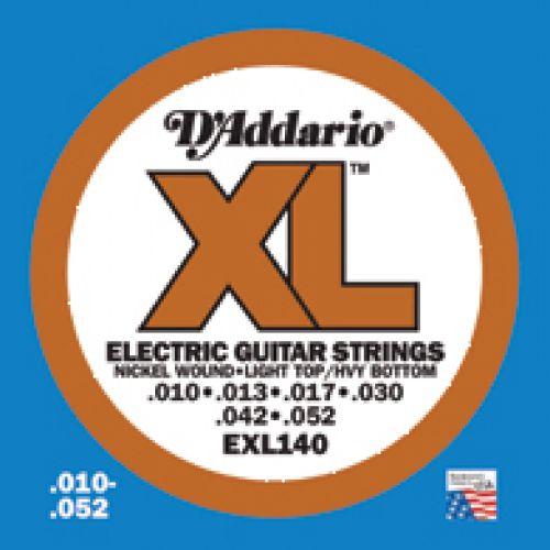D'ADDARIO AND CO EXL 140 10 13 17 30 42 52