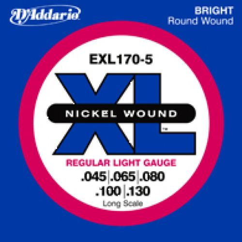 D'ADDARIO AND CO EXL170 5 45 65 80 100 130