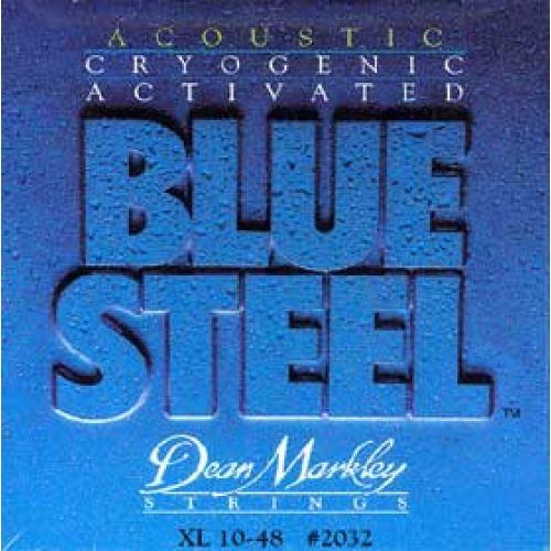 DEAN MARKLEY BLUE STEEL 2032 EXTRA LIGHT 10 14 24 30 38 48