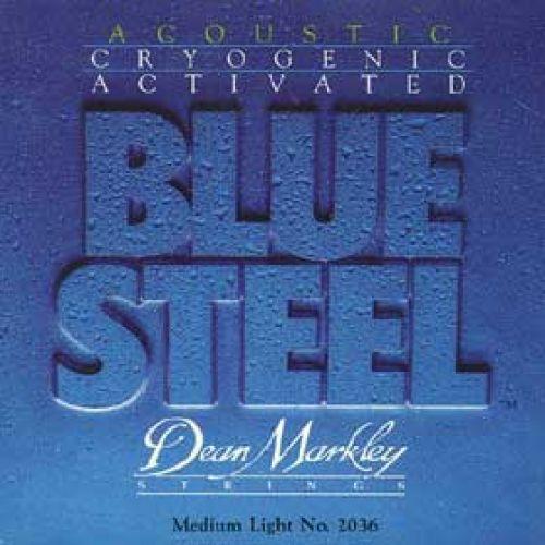 DEAN MARKLEY ACOUSTIC BLUE STEEL 2036 MEDIUM LIGHT 12 15 25 34 44 54