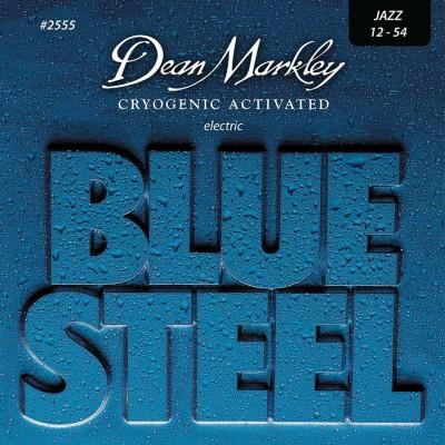 DEAN MARKLEY BLUE STEEL ELECTRIC GUITAR STINGS JAZZ 12-54