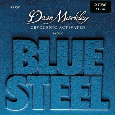 DEAN MARKLEY BLUE STEEL ELECTRIC GUITAR STINGS DROP TUNE 13-56