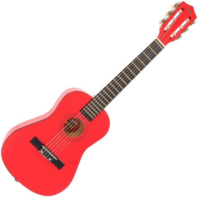 ENCORE GUITARS JUNIOR GUITAR OUTFIT- METALLIC RED