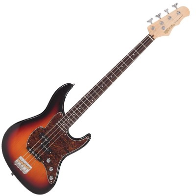 FRET KING BLACK LABEL PERCEPTION 4 BASS ORIGINAL CLASSIC BURST