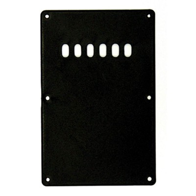 GUITAR TECH GT COVER PLATE- BLACK- -SBC2BK