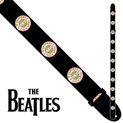 PERRI'S 6083 THE BEATLES 2INCH POLY STRAP - SGT PEPPERS