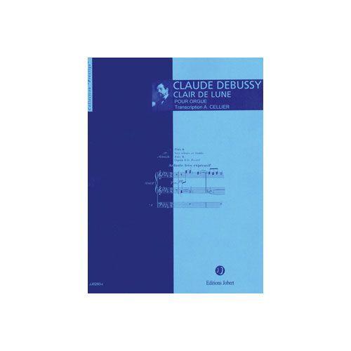 JOBERT DEBUSSY CLAUDE - CLAIR DE LUNE - ORGUE