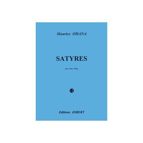 JOBERT OHANA MAURICE - SATYRES - 2 FLUTES