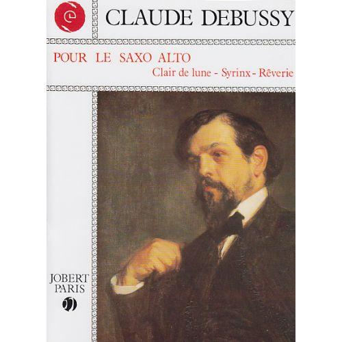 JOBERT DEBUSSY C. - POUR LE SAXOPHONE ALTO - SAXOPHONE ALTO, PIANO