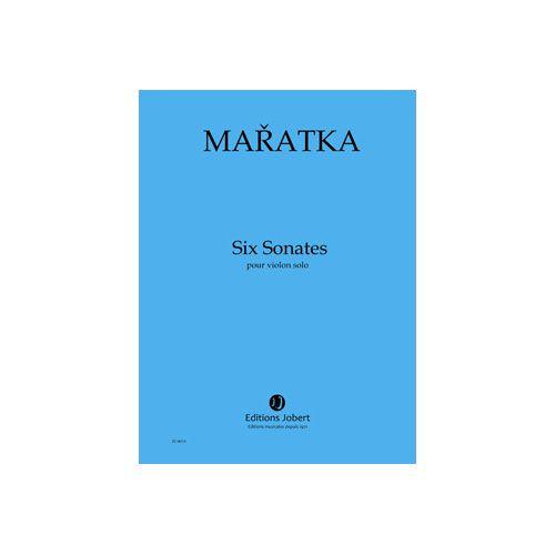 JOBERT MARATKA KRYSTOF - SONATES (6) - VIOLON SOLO
