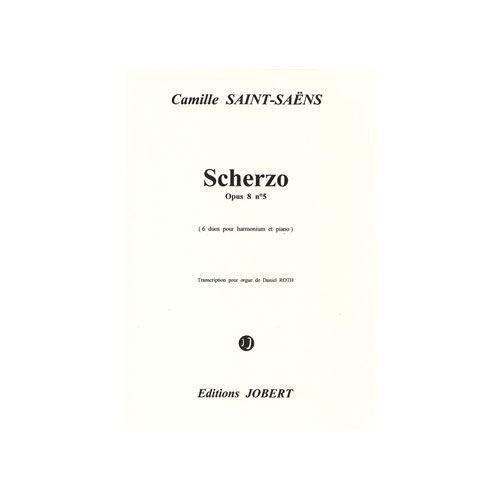 JOBERT SAINT-SAENS CAMILLE - SCHERZO OP.8 N.5 - ORGUE