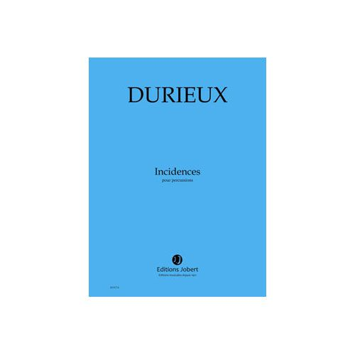 JOBERT DURIEUX FREDERIC - INCIDENCES - PERCUSSIONS (1)