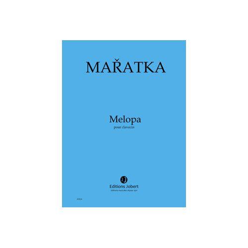JOBERT MARATKA KRYSTOF - MELOPA - CLAVECIN