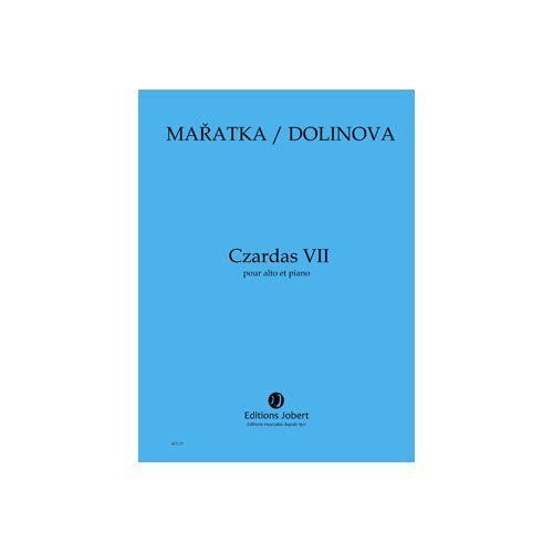 JOBERT MARATKA KRYSTOF / DOLINOVA MILENA - CZARDAS VII - ALTO ET PIANO