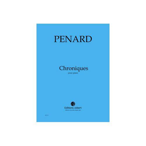 JOBERT PENARD OLIVIER - CHRONIQUES - PIANO