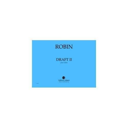 JOBERT ROBIN YANN - DRAFT II - VIOLON