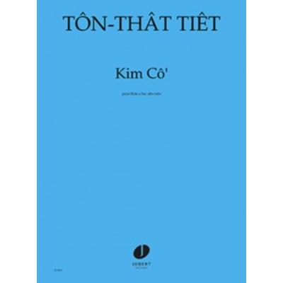 JOBERT TON-THAT TIET - KIM CO - FLUTE A BEC ALTO SOLO