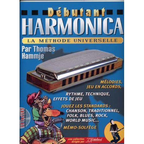 JJREBILLARD DEBUTANT HARMONICA REBILLARD + CD