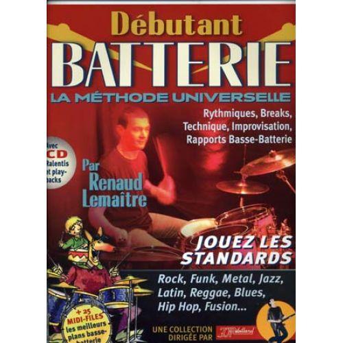 JJREBILLARD DEBUTANT BATTERIE REBILLARD + CD