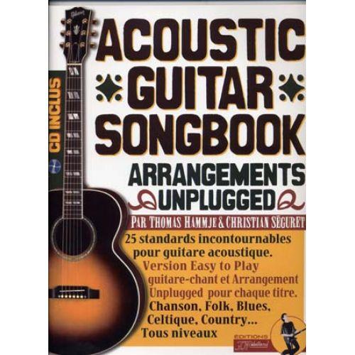 JJREBILLARD ACOUSTIC GUITAR SONGBOOK REBILLARD TAB + CD