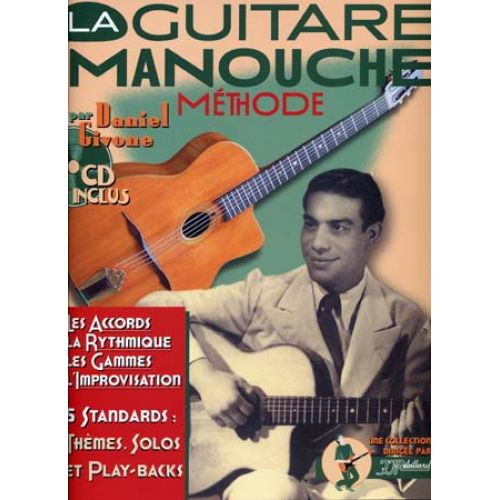 JJREBILLARD GIVONE DANIEL - GUITARE MANOUCHE + CD