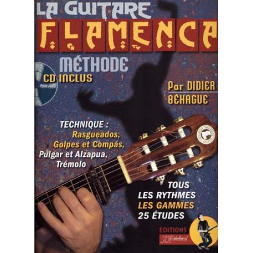 JJREBILLARD BEHAGUE DIDIER - GUITARE FLAMENCA + CD