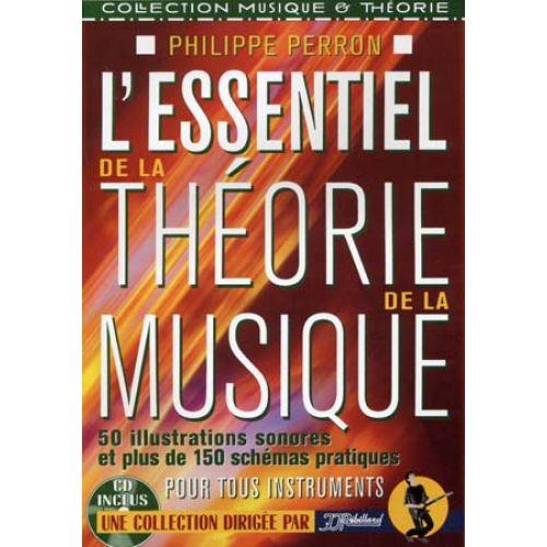 JJREBILLARD ESSENTIEL DE LA THEORIE DE LA MUSIQUE + CD