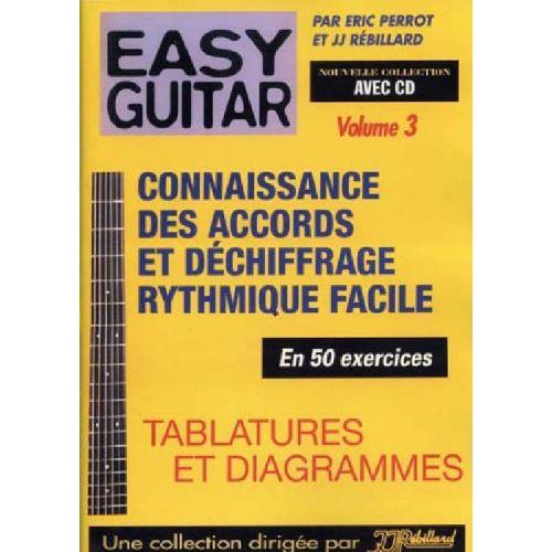 JJREBILLARD REBILLARD - EASY GUITAR VOL.3 + CD
