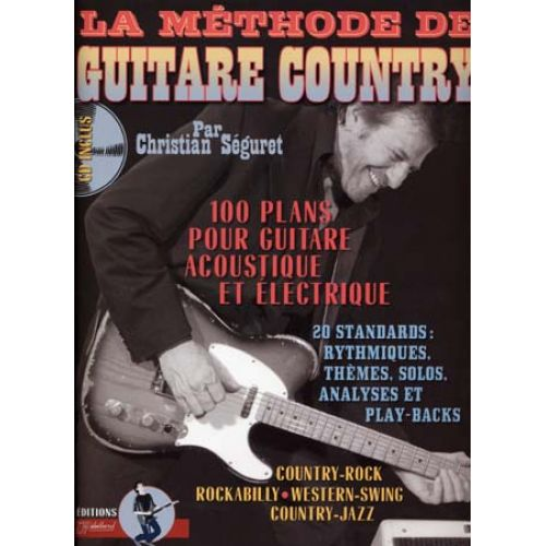 JJREBILLARD SEGURET CHRISTIAN - GUITARE COUNTRY + CD