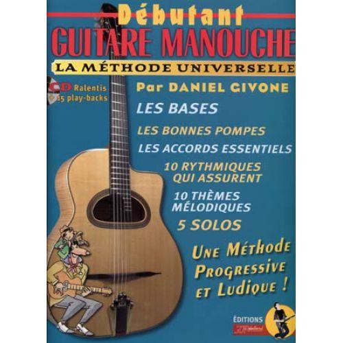 JJREBILLARD GIVONE DANIEL - DEBUTANT GUITARE MANOUCHE + CD