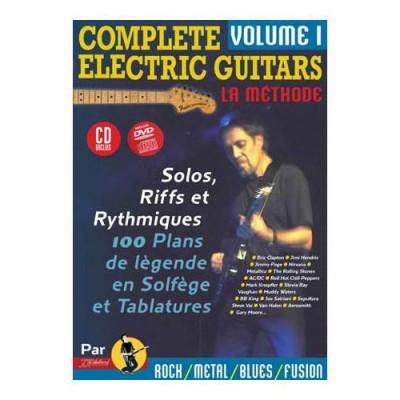 JJREBILLARD REBILLARD J.J - COMPLETE ELECTRIC GUITARS VOL.1 + CD + DVD