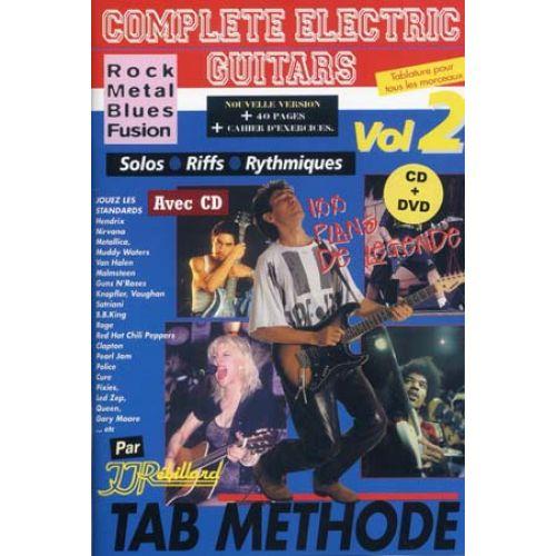 JJREBILLARD REBILLARD J.J - COMPLETE ELECTRIC GUITARS VOL.2 + CD + DVD