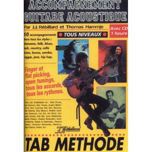 JJREBILLARD ACCOMPAGNEMENT GUITARE ACOUSTIQUE + CD