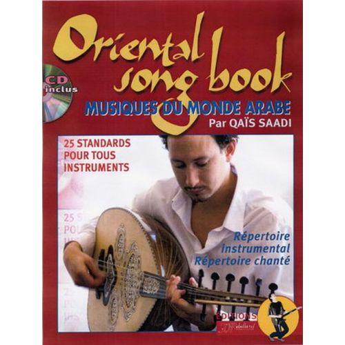 JJREBILLARD QAIS SAADI - ORIENTAL SONGBOOK - MUSIQUES DU MONDE ARABE