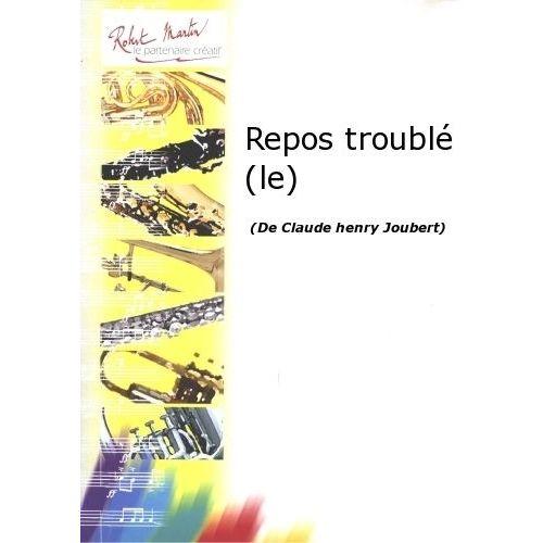 ROBERT MARTIN JOUBERT C.H. - REPOS TROUBLÉ (LE)