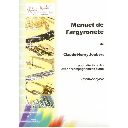 ROBERT MARTIN JOUBERT C.H. - MENUET DE L'ARGYRONÈTE
