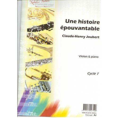 ROBERT MARTIN JOUBERT C.H. - UNE HISTOIRE ÉPOUVANTABLE