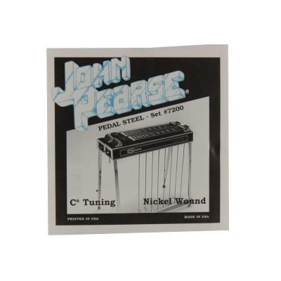 JOHN PEARSE JOHN PEARSE CORDES PEDAL STEEL - PURE NICKEL 7200