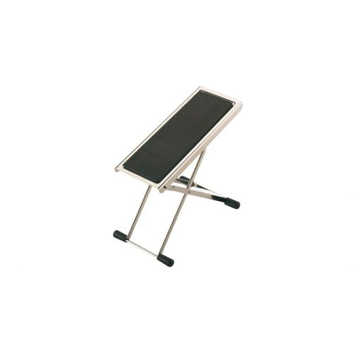 KM 14670-000-01 GUITAR FOOTREST NICKEL
