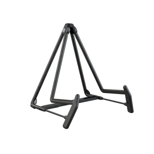 KM 17580 A-GUITAR STAND »HELI 2« RED