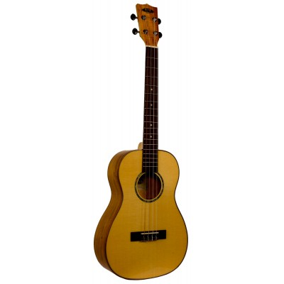 KALA SOLID SPRUCE TOP/FLAME MAPLE BARITON