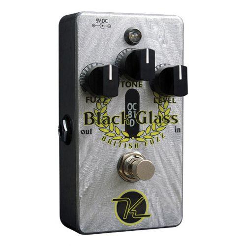 KEELEY BLACK GLASS OC81