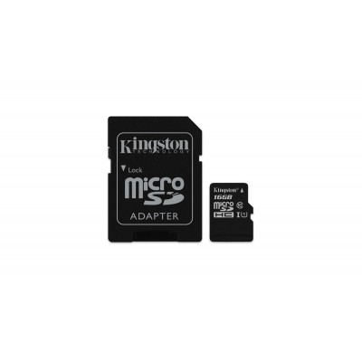 KINGSTON SDHC MICRO CARD 16GB