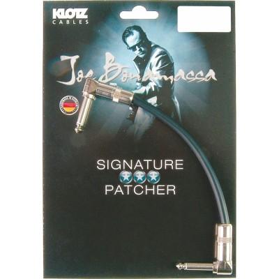 KLOTZ JOE BONAMASSA PATCHER 0,20M JACK 2P.90-JACK 2P.90