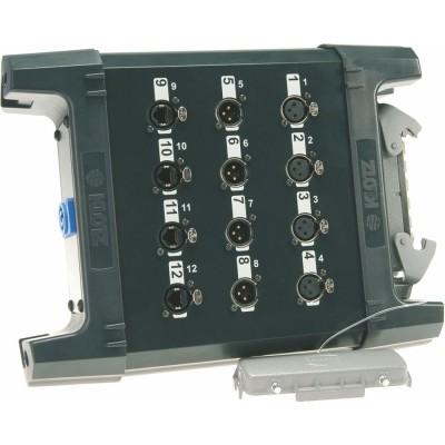 KLOTZ UMAI44E4H UMS TRUELINK PRO IN BOX 4/4/4 XLR 3P. F/M/RJ45 - MUL.